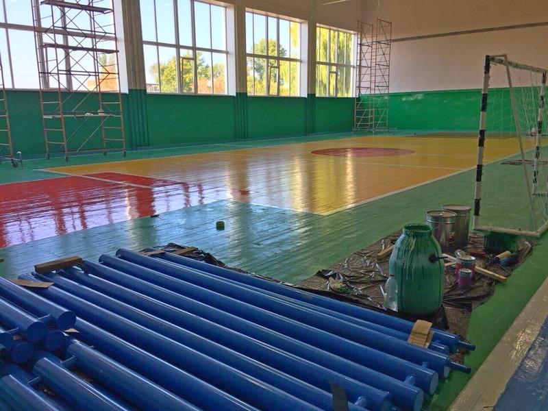 В поселке Коминтерн откроется обновленный спортивный зал